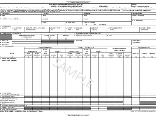 Integrated Program Management Report (IPMR) v.2.0